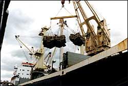 unloadship
